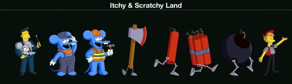 Itchy & Scratchy Land k